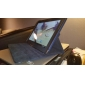 360 graus de giro Caso PU com suporte para Samsung Galaxy Nota 10,1 N8000