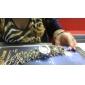 Women's Colorful Style Plastic Analog Quartz Bracelet Watch (Assorted Colors)