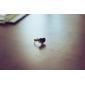 반지 일상 보석류 합금 아크릴 여성 밴드 반지 1PC,조절가능 블랙 화이트 레드