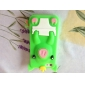 3d conception de cas mignon de porc motif mou pour l'iphone 5/5s (couleurs assorties)