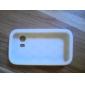 Caja sólida de color suave con el Rhinestone para Samsung Galaxy Y S5360 (colores surtidos)