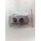 Boucles d'oreilles Feuille d'érable en acier inoxydable