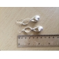 Fashion S-shaped Frosted Ball Earrings for Women