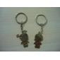 inox amateurs de porte-clés (garçon et fille / 2-pièces)