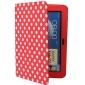 Retro Caso PU de proteção com suporte para Samsung Galaxy Nota 10,1 N8000