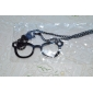 Lureme®Alloy Eyeglasses Pattern Necklace(Assorted Colors)