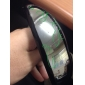 Unisex Silver Lens Black Frame UV400 Protection Sports Glasses
