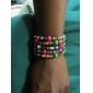 Мода 6 см Для Женщин Многоцветный Дерево Wrap браслет (многоцветный) (1 шт)