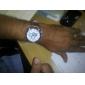 Herre læder Analog Quartz Armbåndsur (blandede farver)