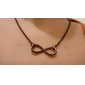 Shixin® Silver Plated Infinity Necklace For Women girls\