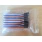 GD - Breadboard/protoboard-kablar till elektronik, hona-till-hane (22 cm)