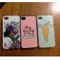 Girl Pattern Hard Case for iPhone 4/4S