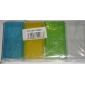 vanntett gjennomsiktig plastkoffert for 18650,16340 batteri (4 stk, tilfeldig farge)
