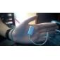 Splitter para Auriculares 3'5mm para iPhone, Samsung y Más (Macho a Dual Hembra, Blanco) 0'15M