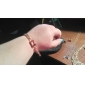 shixin® (случайный цвет) драгоценных камней 24.5cm женщин сплава золота браслет (1 шт)