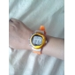 unisex kaloriräknare pulsmätare digitalt armbandsur (orange)