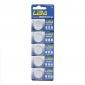 CR2032 3V Hochleistungs Lithium-Knopfbatterien (5er-Pack)