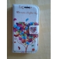 Love Tree Deer Style PU Leather Case with Card Slot and Stand for Samsung Galaxy S4 i9500