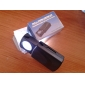 45x 21mm koru luuppi / suurennuslasi valkoinen led valaistus (3 * LR1130)