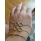 Shixin® Love Word Letters Infinite Infinity Chain Bracelet
