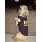 VIP puuvilla paita koirille (XS-M, musta)