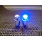 szuper fényes kék villogó LED-es abroncs fény (2 darabos)