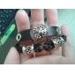 Муж. Wrap Браслеты Кожаные браслеты Кожа Ткань Черный Бижутерия Для Повседневные