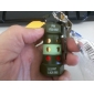Military Kettle Shape Keychain Butane Lighter with Clip (Random Color)