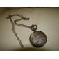 unisex vis legering analoge quartz zakhorloge (brons)
