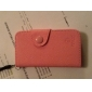 PU kožnim Full Body Case with Card Slot and Strap for iPhone 4/4S (Optional Colors)