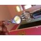 Silver & Acierage Keychain d'or avec Three Rings