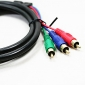 100% Copper VGA to 3RCA Cable (1.5 m)