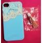 Capa Rígida caom Renda e Laços para iPhone 4/4S