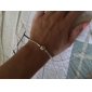 Fashion Unisex Silver-Plated Bracelet (1 Pc) Christmas Gifts