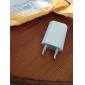 Laddadapter EU-kontakt till USB för iPhone 5 (Vit)