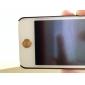 Smiling Face motif d'empreintes digitales Effet autocollant de bouton (3pcs couleurs aléatoires)