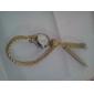 Orologio-bracciale analogico, al quarzo, da donna, in PU - Colori assortiti