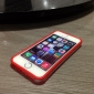 Transparent Bumper Case for iPhone 5/5S (Assorted Colors)