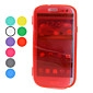 Transparent Protective Soft TPU Case for Samsung Galaxy S3 I9300 (Assorted Colors)