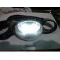 Lanterna de Cabeça LED Branca e Vermelha 4 Modos