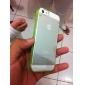 Fluorescent Effect After Lighting Transparent Back Case for iPhone 5/5S(Assorted Color)