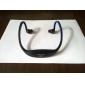 oppladbart slank sport MicroSDHC-tf-kort mp3 spiller stereo hodetelefon (assortert farge)