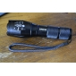 A100 5-Mode Cree XM-L T6 Zoom LED Flashlight (1000LM, 1x18650/3xAAA)
