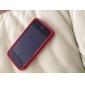 아이폰 4 / 4S (여러 색)를위한 부드러운 보호 PVC 케이스