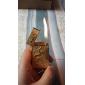 Gold Brick Dragon Pattern Gas Lighter