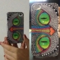 Coque pour iPhone 4/4S, Motif Yeux de Monstre