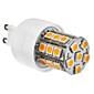G9 27x5050 SMD 3.5W 300LM 2800-3200K varm hvid lys LED majs pære (230V)