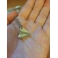 Lureme®Silver Plated Alloy Paper Plane Pattern Necklace