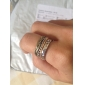 Women's Punk Vintage Style Bronze Ring Set (4Pcs)