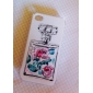 Frasco de perfume Series Case Voltar para iPhone4/4S (cores sortidas)